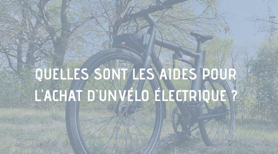 aides subventions achat vélo électrique
