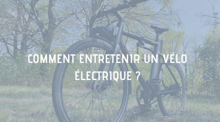 entretenir vélo électrique