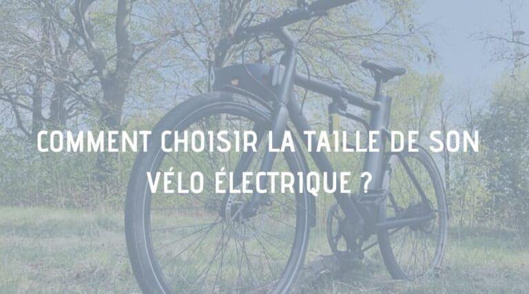 taille vélo électrique